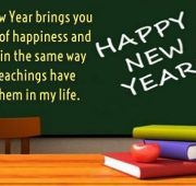 New year wishes for students from teachers
