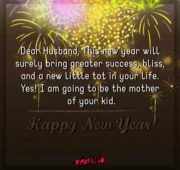 New year wishes for would be husband