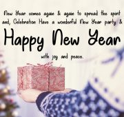 New year wishes friend
