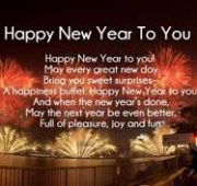 New year wishes friends