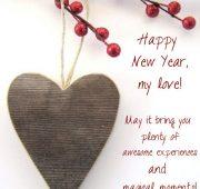 New year wishes girlfriend