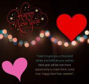 New year wishes husband