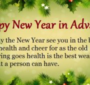 New year wishes in advance quotes
