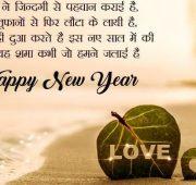 New year wishes love shayari Hindi