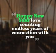 New year wishes love sms messages