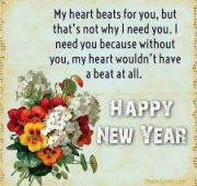 New year wishes loved ones
