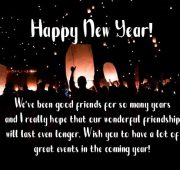 New year wishes messages for friends
