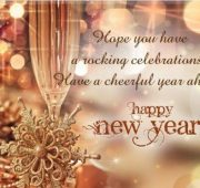 New year wishes msg
