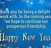 New year wishes quotes business