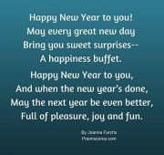 New year wishes rhymes