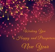 New year wishes to a family