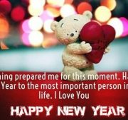 New year wishes to best girlfriend