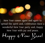 New year wishes to boss and family