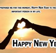 New year wishes to new couple