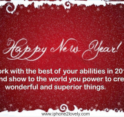 New year wishes to team members