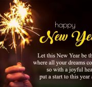 New year wishes unique way