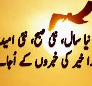 New year wishes urdu sms
