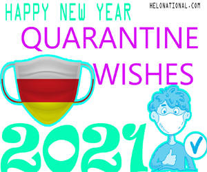 Quarantine New Year wishes