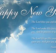 Religious happy new year wishes for friends and family
