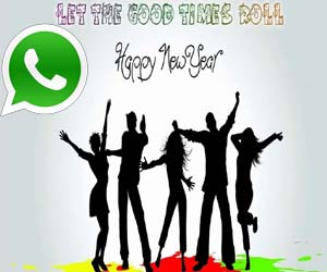 Happy new year 2021 whatsapp dp