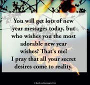 Happy new year wishes and prayers
