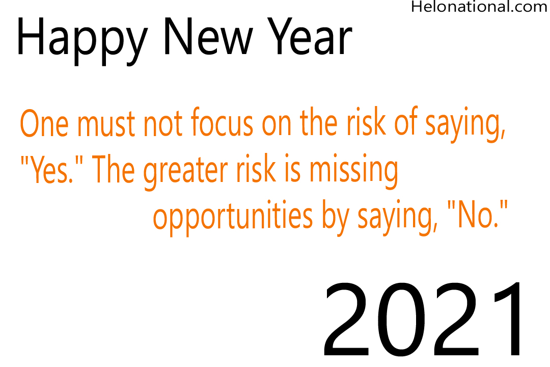 New year 2021 inspirational wishes and quotes