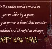 New year messages english greetings