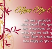 New year messages for cards