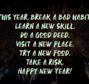 New year messages heart touching