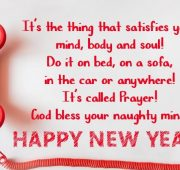New year messages professional
