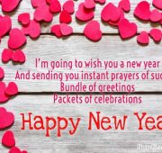 New year wishes and prayers