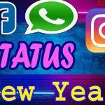 Happy New Year Status | New Year 2022 WhatsApp, Facebook, Instagram Status