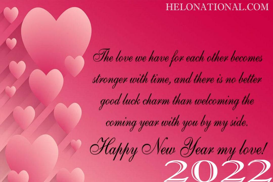 Happy New Year 2022 Wishes for Boyfriend