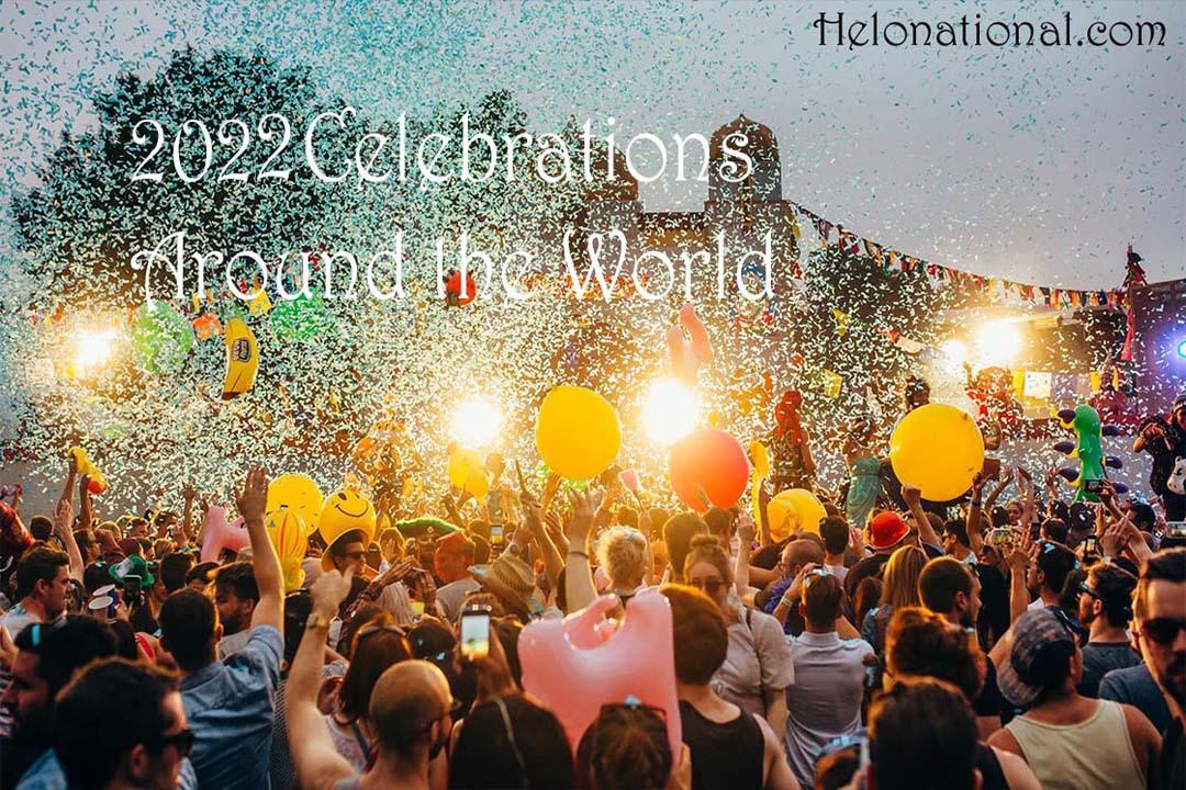 Happy New Year Celebration Around The World