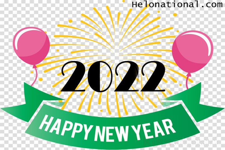 Happy New Year Clipart 2022