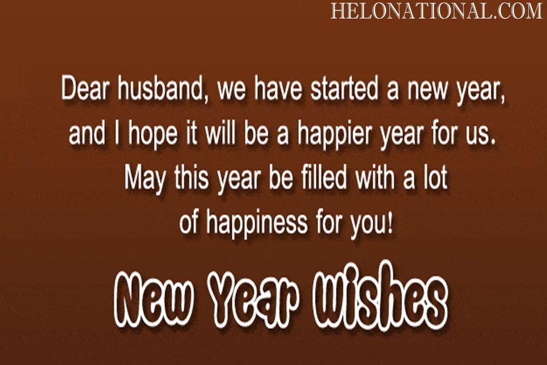 Happy New Year Hubby