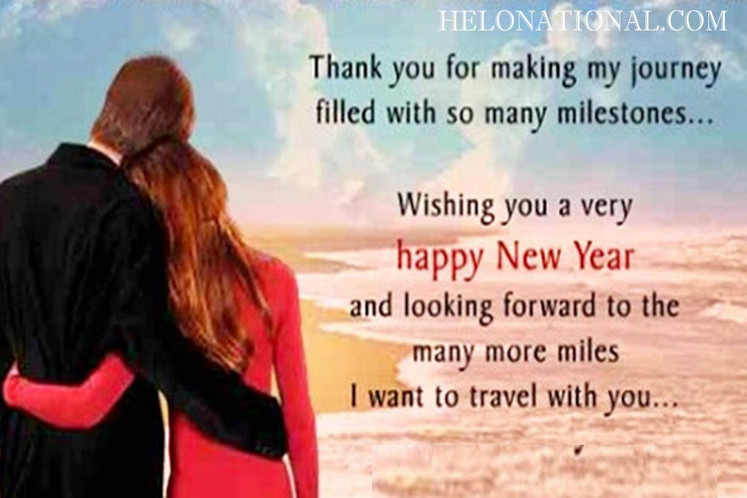 Happy New Year Husband and wife wishes