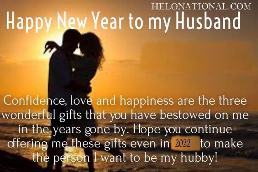 Happy New Year My Husband