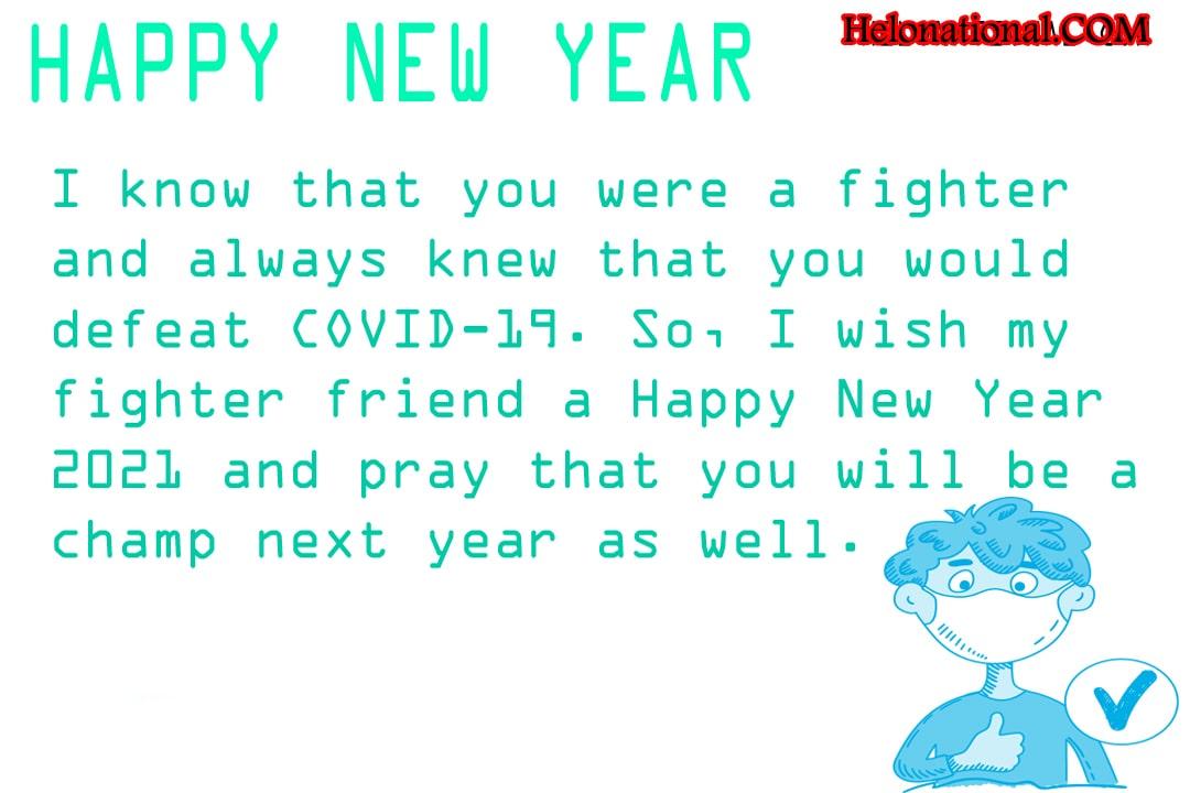Happy New Year Quarantine Wishes