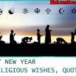 Happy New Year 2022 Religious Wishes, Messages, Sayings
