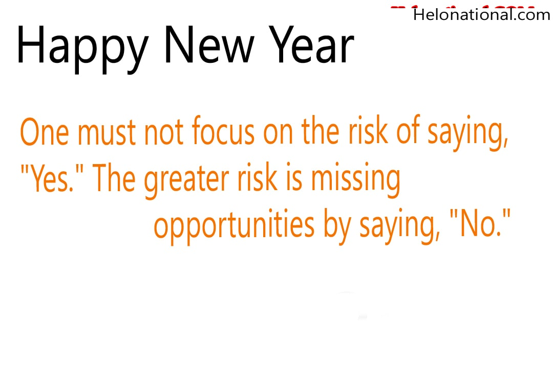Happy New year Motivational Wished