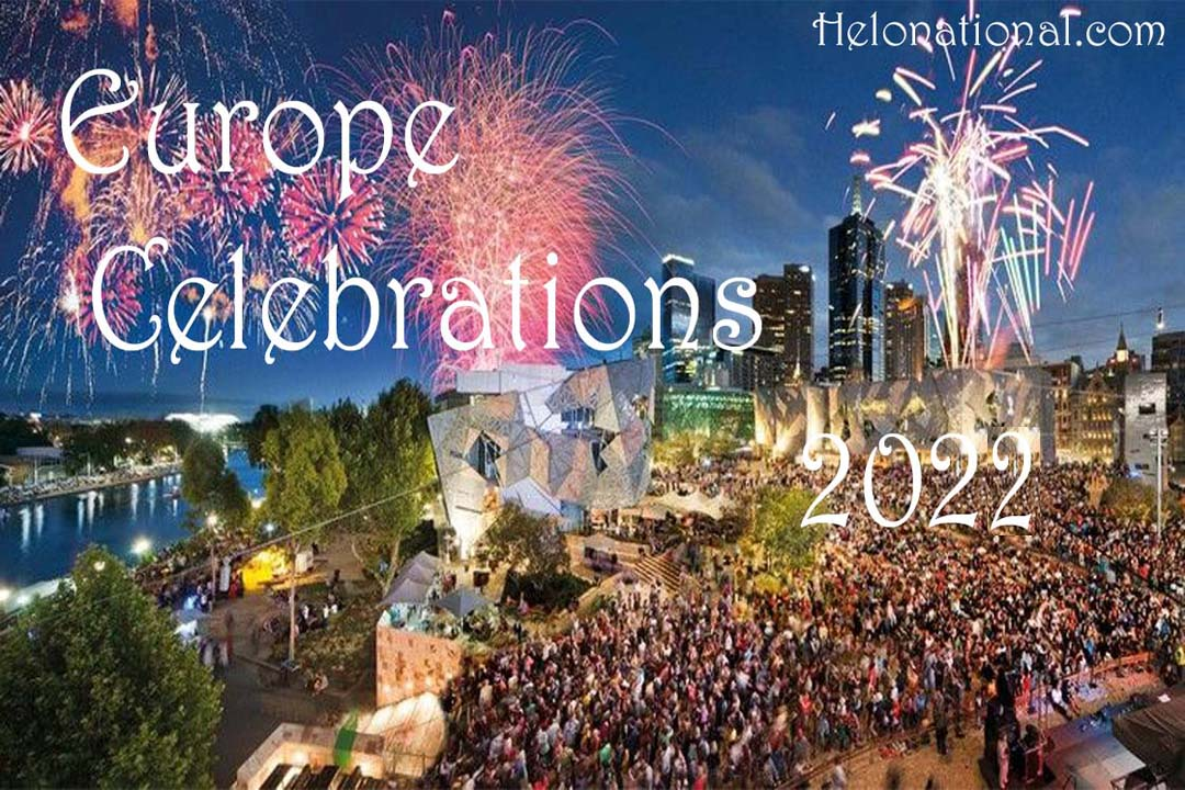 New Year Celebration In Europe's copy