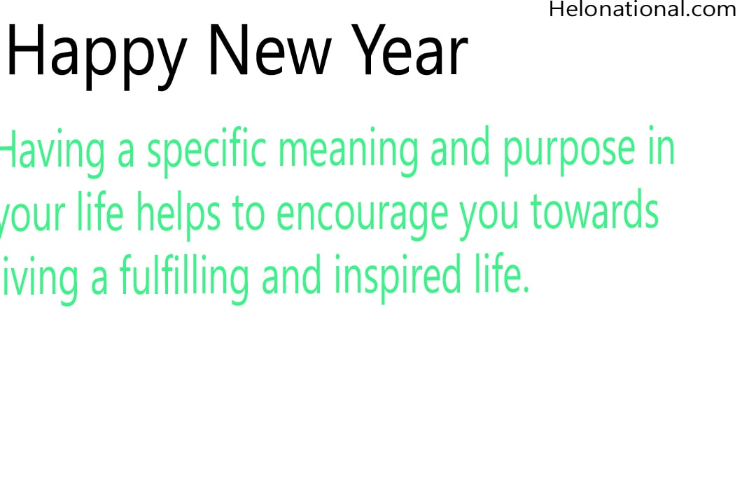 New Year Motivational Wishes