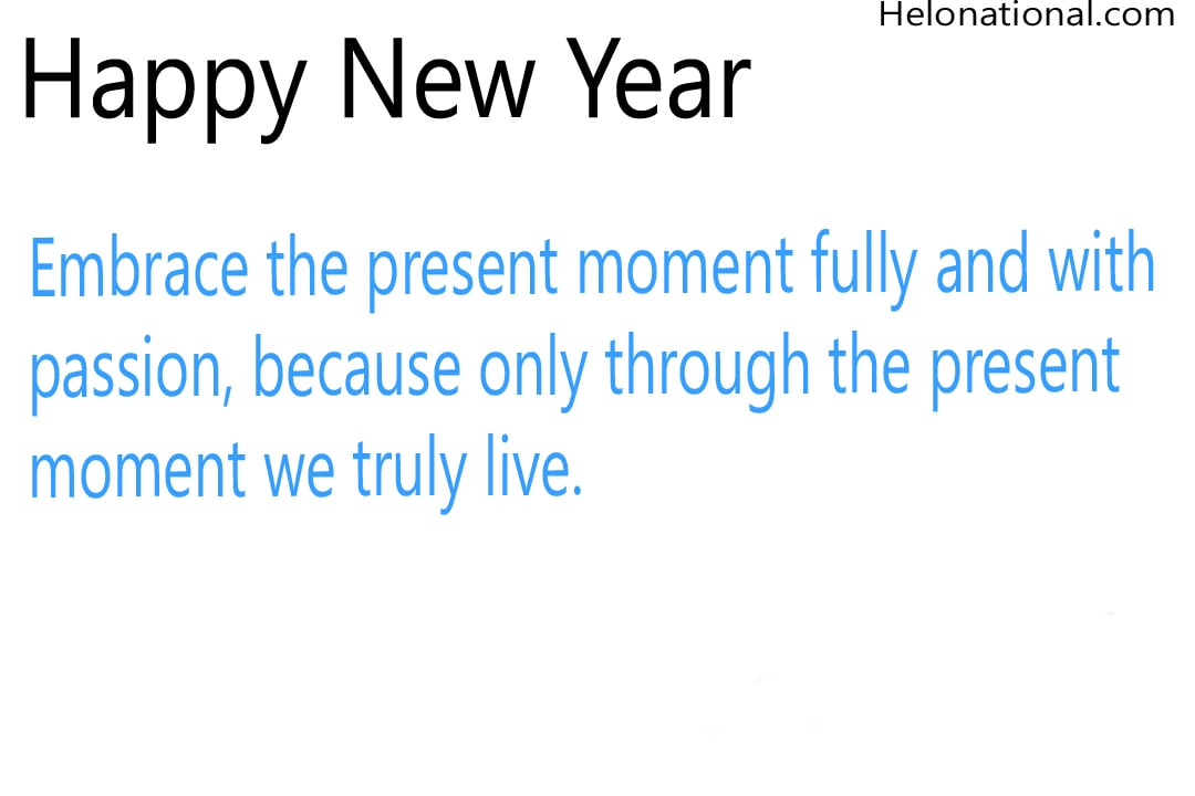 New Year inspirational Wishes