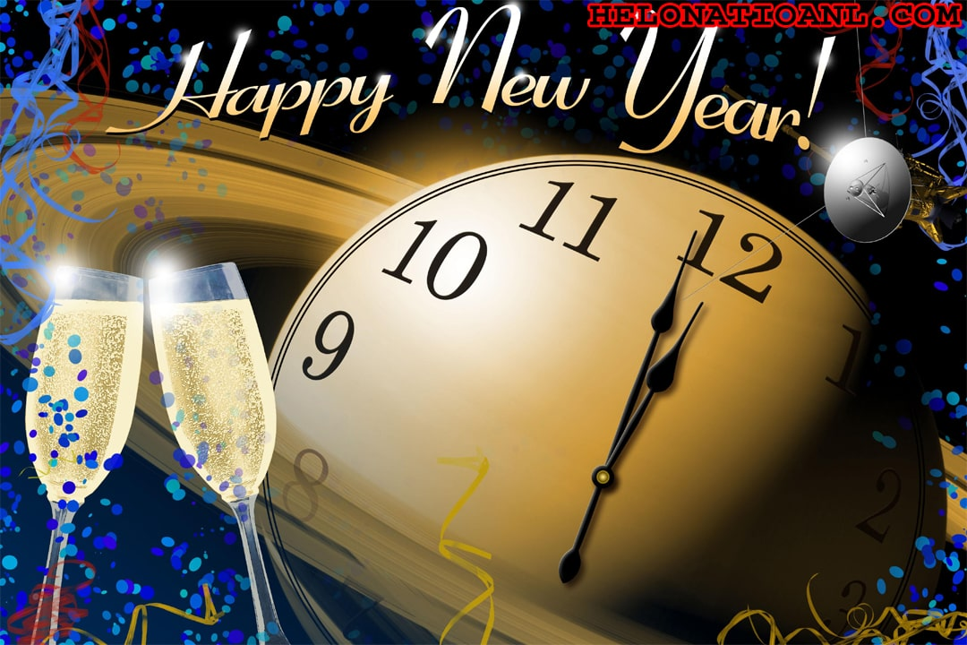 New year images advance