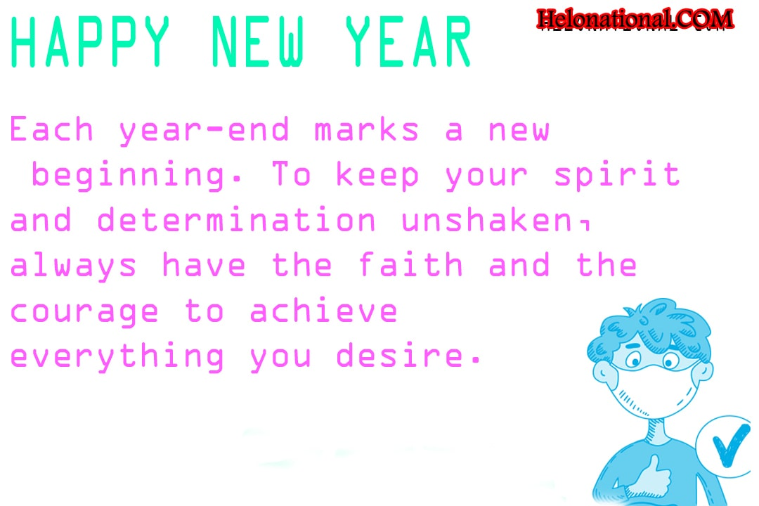 Quarantine Wishes for new year